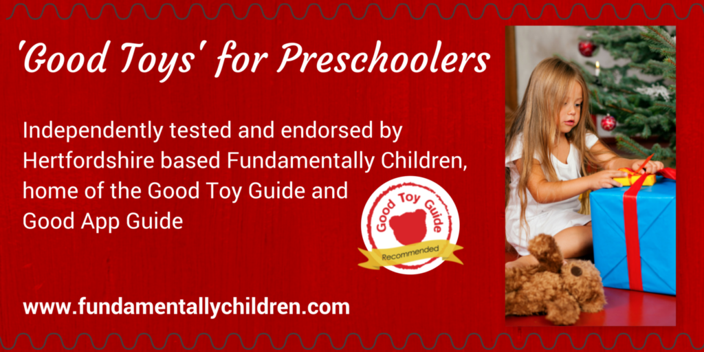 Good Toys for Preschoolers this Christmas