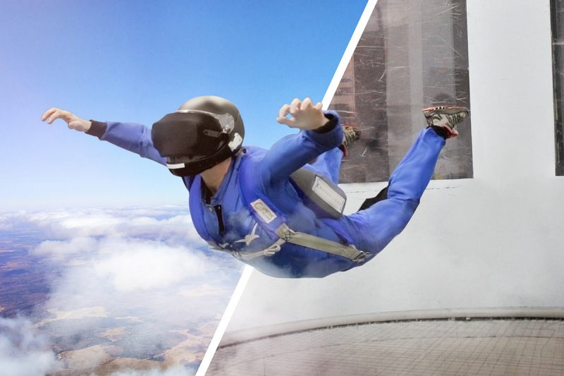 VR 4D Indoor Skydive - £85