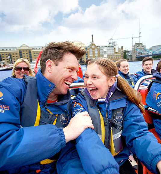 Thames Rocket Ultimate London Adventure Family Ticket - £138 (2 adults and 2 children)