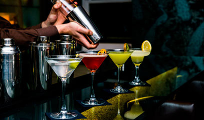 Cocktails in Kensington: a Private Cocktail Masterclass for 2 - £140