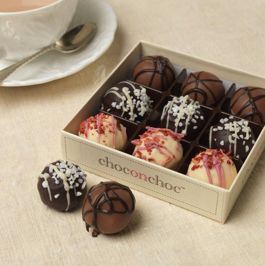 Luxury Chocolate Truffle Selection