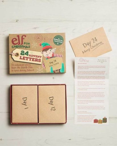 Elf For Christmas Advent Letter Set